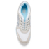 Asics Lifestyle Women's Gel-Lyte III Crystal Blue Pack Trainers - White/Light Grey: Image 3