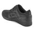 Asics Lifestyle Gel-Lyte III Leather Trainers - Black: Image 4