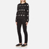Versus Versace Women's Studded Pocket Jeans - Black: Image 4