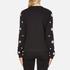 Versus Versace Women's Silver Studded Sweatshirt - Black/Silver: Image 3