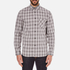 rag & bone Men's Beach Buttoned Shirt - Grey Check: Image 1