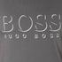 BOSS Hugo Boss Men's Large Logo T-Shirt - Dark Grey: Image 5