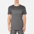 BOSS Hugo Boss Men's Large Logo T-Shirt - Dark Grey: Image 1