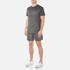 BOSS Hugo Boss Men's Large Logo T-Shirt - Dark Grey: Image 4