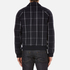 A.P.C. Men's Checked Teddy Jacket - Dark Navy: Image 3