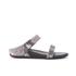 FitFlop Women's Banda Crystal Imi-Snake Slide Sandals - Mink: Image 1