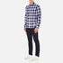 Penfield Men's Pearson Check Shirt - Navy: Image 4