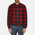 Penfield Men's Glendale Buffalo Plaid Jacket - Red: Image 1