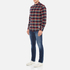Penfield Men's Barrhead Check Shirt - Red: Image 4