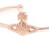 Vivienne Westwood Jewellery Women's Grace Bas Relief Bangle - Light Peach: Image 2