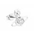 Vivienne Westwood Women's Nora Earrings - White Cubic Zirconia: Image 2