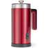 Gourmet Gadgetry Retro Diner Milk Frother and Hot Chocolate Maker - Retro Red - 0.55L: Image 1