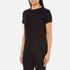 Helmut Lang Women's Medium Weight Cotton Jersey Slash Hem T-Shirt - Black: Image 2