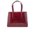 Aspinal of London Women's Regent Croc Tote Bag - Bordeaux: Image 7