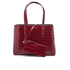 Aspinal of London Women's Regent Croc Tote Bag - Bordeaux: Image 1