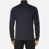 BOSS Orange Men's Zissou Zipped Sweatshirt - Dark Blue: Image 3