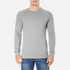 BOSS Orange Men's Wheel Crew Neck Sweatshirt - Grey: Image 1