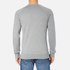 BOSS Orange Men's Wheel Crew Neck Sweatshirt - Grey: Image 3