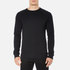 BOSS Orange Men's Wheel Crew Neck Sweatshirt - Black: Image 1