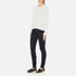 Vero Moda Women's Lex Long Sleeve Jumper - Snow White: Image 4