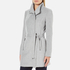Vero Moda Women's Call Rich 3/4 Wool Jacket - Light Grey Melange: Image 2