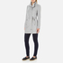 Vero Moda Women's Call Rich 3/4 Wool Jacket - Light Grey Melange: Image 4