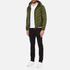 Versus Versace Men's Hooded Down Jacket - Verde: Image 4