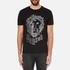 Versus Versace Men's Large Lion Logo T-Shirt - Black Stampa: Image 1
