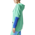 adidas Women's Stellasport Long Gym Hoody - Green/Blue: Image 2