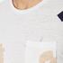 Scotch & Soda Men's Allover Print T-Shirt - White: Image 6