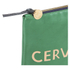 Clare V. Women's Flat Clutch Bag - Emerald Nappa With Blush Cervezafria: Image 4