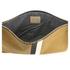 Clare V. Women's Supreme Flat Clutch Bag - Camel Black/White Stripes: Image 5