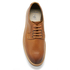 Clarks Men's Pitney Walk Leather Derby Shoes - Cognac: Image 3