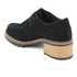 Clarks Women's Balmer Willow Suede Heeled Ankle Boots - Black: Image 4