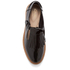Clarks Women's Griffin Mia Patent Frill T Bar Shoes - Black: Image 3