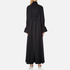 KENZO Women's Crepe Back Satin Maxi Dress - Black: Image 3