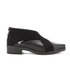 Melissa Women's X Flat Ankle Boots - Black Flock: Image 1