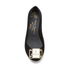 Vivienne Westwood for Melissa Women's Ultragirl 16 Ballet Flats - Black Flock Plaque: Image 3