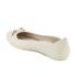 Melissa Women's Pump Bow Ballet Flats - Frost: Image 4