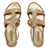 Melissa Women's Campana Barocca 16 Sandals - Gold: Image 1