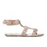 Melissa Women's Campana Barocca 16 Sandals - Rose: Image 1
