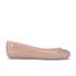 Vivienne Westwood for Melissa Women's Space Love 16 Ballet Flats - Nude Orb: Image 1