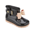 Mini Melissa Toddlers' Sugar Rain Bow Boots - Black Contrast: Image 2