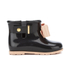 Mini Melissa Toddlers' Sugar Rain Bow Boots - Black Contrast: Image 1