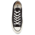Converse Chuck Taylor All Star '70 Ox Trainers - Black: Image 3