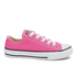 Converse Kids' Chuck Taylor All Star Ox Trainers - Mod Pink: Image 1