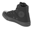 Converse Kids Chuck Taylor All Star II Tencel Canvas Hi-Top Trainers - Black Monochrome: Image 4