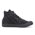 Converse Men's Chuck Taylor All Star Denim Woven Hi-Top Trainers - Black/Storm Wind/Storm Wind: Image 1