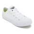 Converse Kids Chuck Taylor All Star II Tencel Canvas Ox Trainers - White/White/Navy: Image 2