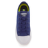 Converse Kids Chuck Taylor All Star II Tencel Canvas Ox Trainers - Sodalite Blue/White/Navy: Image 3